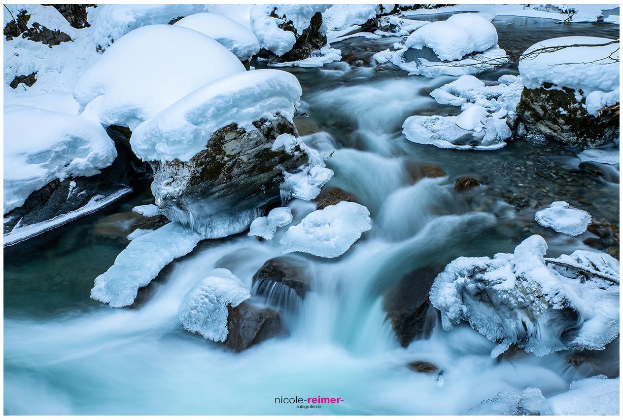 Die Breitachklamm im Winter - Nicole Reimer Fotografie