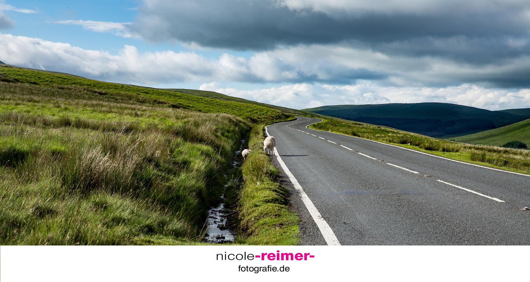 Straße-Wales