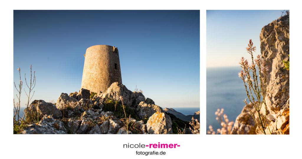 Torre de Albercutx zur goldenen Stunde - Nicole Reimer Fotografie