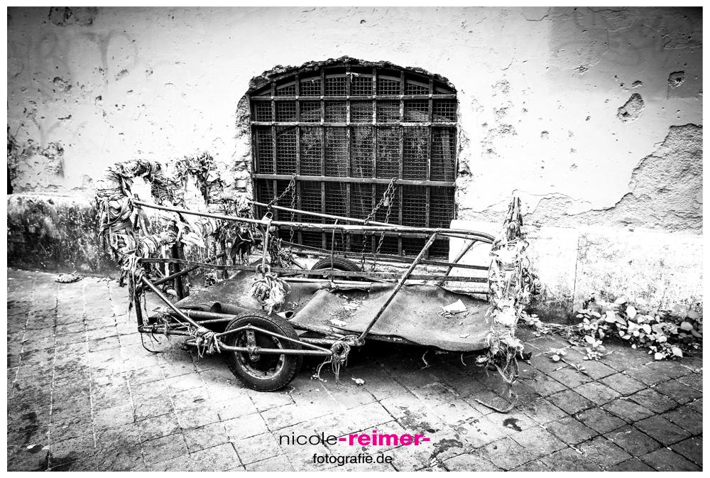 Fotografieren - Alter Wagen in Rom - Nicole Reimer Fotografie