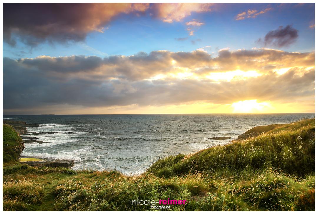 Sonnenuntergang Mullaghmore Head, das letzte Licht - Nicole Reimer Landschaftsfotografie